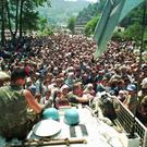 The Dutch state is liable in the deaths of Bosnian Muslim men who were turned over by Dutch UN peacekeepers to Bosnian Serb forces in July 1995, the court ruled