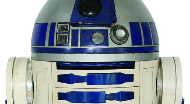 The R2-D2 fetched more than £2 million at the Los Angeles auction (Profiles in History/PA)