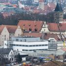 The prison in Regensburg will be evacuated after a bomb was found nearby (Armin Weigel/dpa via AP)