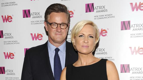 Joe Scarborough and Mika Brzezinski have hit back after criticism from Donald Trump (Invision/AP)