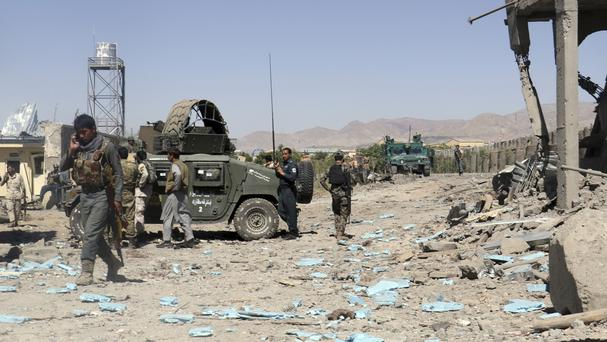 Fighting has taken place between security forces and the Taliban in eastern Afghanistan (AP)