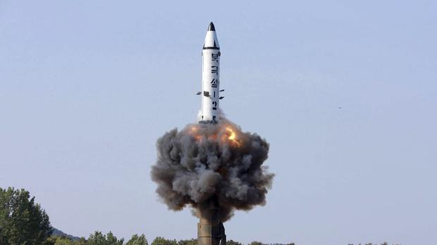 North Korea has carried out a series of test-firings in recent months, including on May 22 when a solid-fuel