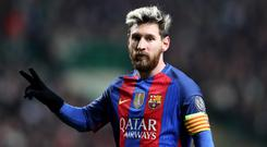 A court last year found Lionel Messi and his father guilty of three counts of defrauding tax authorities