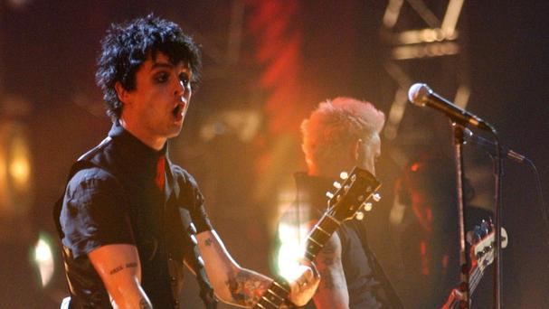 Green Day performed at the Mad Cool festival in Madrid