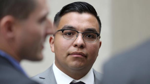 St Anthony police officer Jeronimo Yanez has left the department where he served (David Joles/Star Tribune/AP)