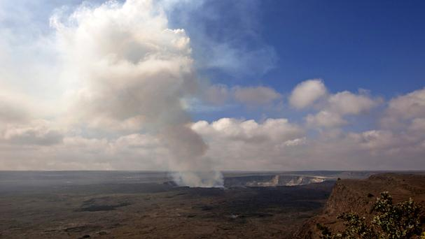 A 38-year-old man has died on Kilauea volcano (AP)
