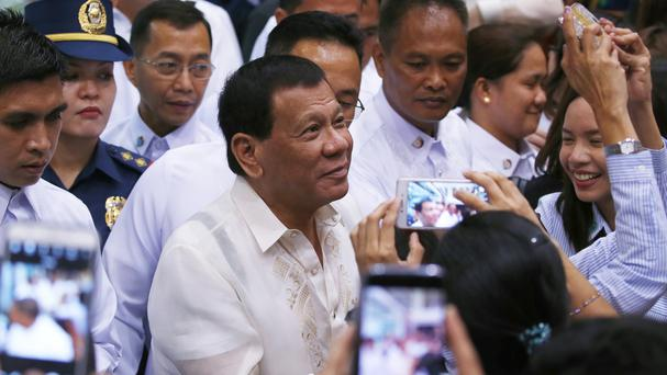 Philippine President Rodrigo Duterte said the threat posed by IS will continue to plague the country (AP)