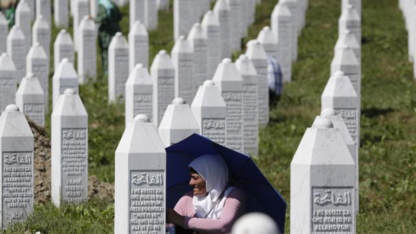 The Srebrenica massacre was Europe's worst single atrocity since the Second World War (AP)