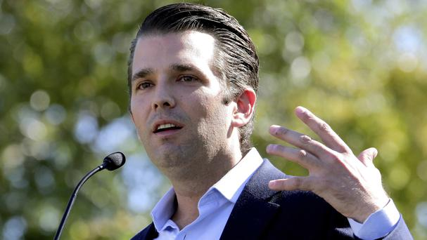 Donald Trump Jr released emails about the meeting earlier this week (AP)