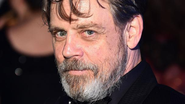 File photo dated 16/12/15 of Star Wars actor Mark Hamill who wants to play the sci-fi saga's creator George Lucas on the big screen.
