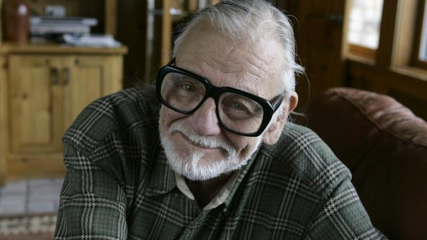 Director and writer George Romero has died at the age of 77 (AP)