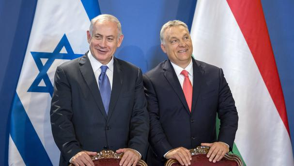Hungary's Orban welcomes Netanyahu, vows to fight anti-Semitism