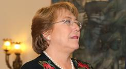 Chilean president Michelle Bachelet says she will back the bill.
