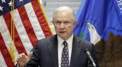 Jeff Sessions would not have been appointed as attorney general by Donald Trump if the president had known he would recuse himself from overseeing the Russia investigation (AP Photo/John Locher, File)