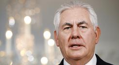 Secretary of State Rex Tillerson has called for the land blockade of Qatar to be lifted