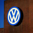 Shares were down at Volkswagen