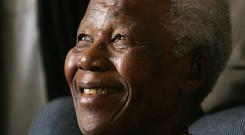 Nelson Mandela suffered a lung infection and other ailments before he died in 2013 (Themba Hadebe/AP)