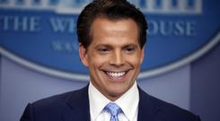 Anthony Scaramucci has pledged to 'create a more positive mojo' (Pablo Martinez Monsivais/AP)