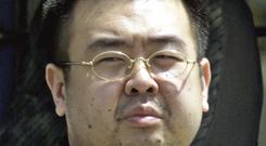 Kim Jong Nam, half brother of North Korea's leader Kim Jong Un.