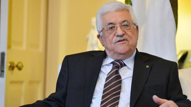 King checks on Abbas' health