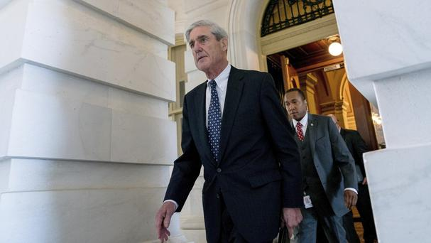 Robert Mueller is using a grand jury in Washington as part of an investigation into potential co-ordination between the Trump campaign and Russia (AP Photo/Andrew Harnik, File)