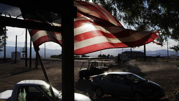 Cannabis company American Green has bought the entire 80-acre California desert town of Nipton (AP Photo/John Locher)