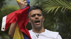 Leopoldo Lopez is back home after his latest spell in prison (AP Photo/Fernando Llano, File)