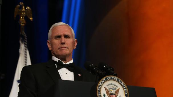 Mike Pence is Donald Trump's vice president