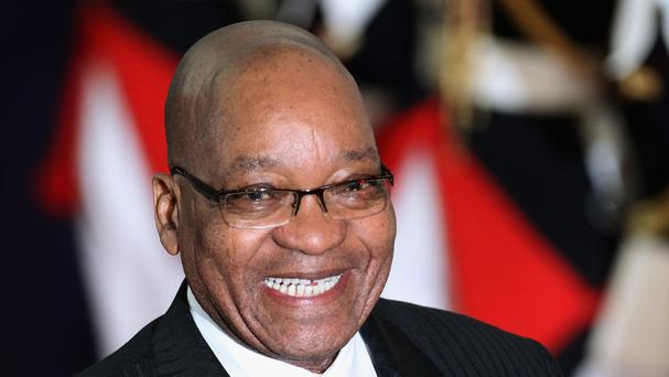 President of South Africa Jacob Zuma faces a no confidence vote