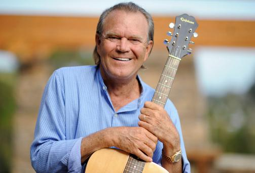 Glen Campbell pictured in August 2008, three years before he was diagnosed with the early stages of Alzheimer's Photo: Reuters