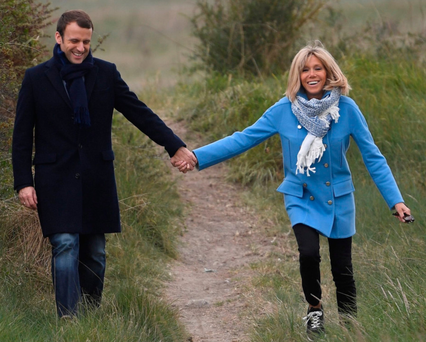 280,000 people have signed a petition against Brigitte Macron being given a formal position as the country's First Lady Photo: Getty
