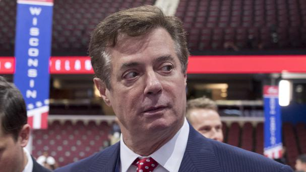 Paul Manafort's home was searched by FBI agents (AP)