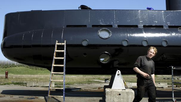 Danish inventor charged with killing journalist after homemade submarine sinks