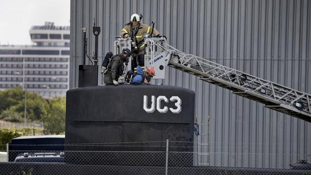 Investigations continue aboard the UC3 Nautilus (AP)