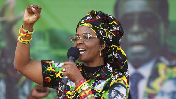 Grace Mugabe is the wife of Zimbabwe's president (AP/Tsvangirayi Mukwazhi)