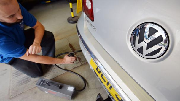 Around 115,000 diesel vehicles were caught up in the emissions scandal here