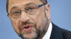 Martin Schulz is Angela Merkel's main challenger for the forthcoming elections (AP)