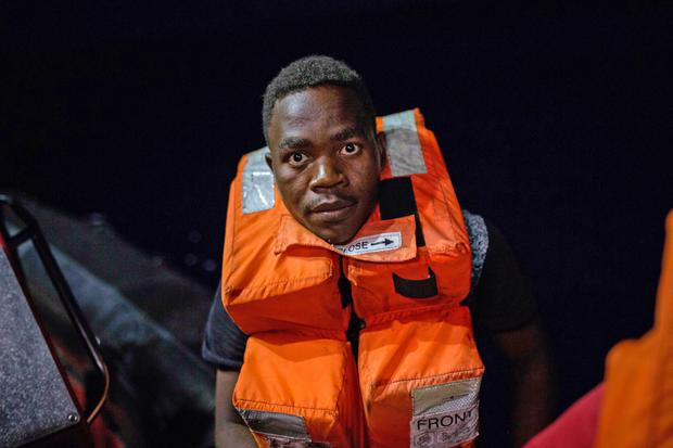 So far, 2,408 people have drowned crossing the Mediterranean towards Europe this year. Photo: AFP/Getty Images