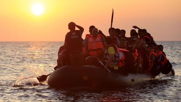 Tens of thousands of migrants from Africa attempt the perilous sea crossing to Europe