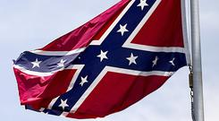 Cork GAA fans have been lambasted online for flying the so-called Confederate flag.