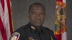 Sam Howard was the second police officer to died after being shot in Kissimmee, Florida (Kissimmee Police Department/Orlando Sentinel via AP)