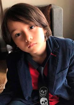 Julian Alessandro Cadman, seven, who is missing in the aftermath of Thursday's terror attack in Barcelona