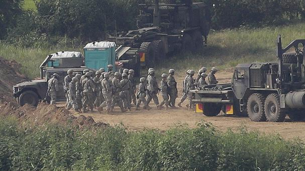 BBCI: US-South Korea set for divisive military drills