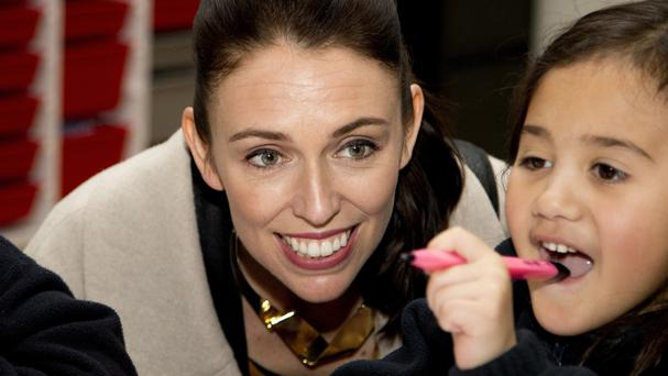 New Zealand Labour Party leader Jacinda Ardern's promise to run a progressive agenda with an optimistic outlook resonated with some voters (AP)