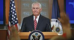 Rex Tillerson commended North Korea for recent restraint (AP/Pablo Martinez Monsivais)