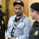 Kirill Serebrennikov attends a hearing in a court in Moscow, Russia (AP)