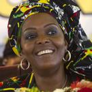 Grace Mugabe is accused of assaulting a young model at a hotel in Johannesburg (AP)