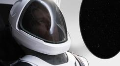 The SpaceX suit is designed for crewed flights planned for 2018 (SpaceX/AP)