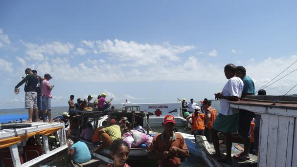 Residents join in the search and rescue mission for the passengers of the