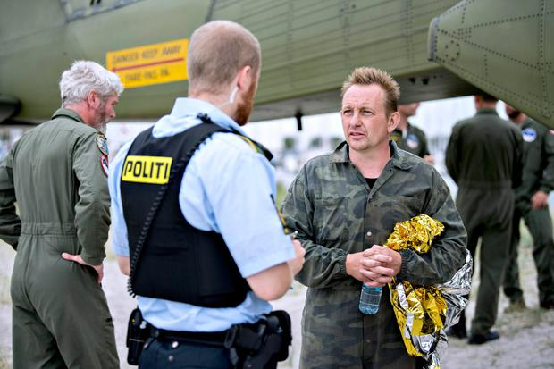Peter Madsen was rescued before his submarine sank. Photo: Getty Images